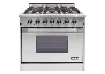 NXR 36 inch range with 6 dual ring burners