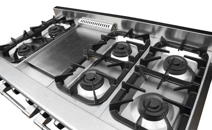NXR 48 Inch Range With 6 Burners And Griddle ...