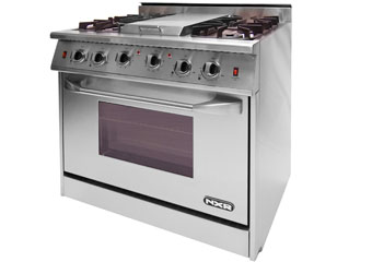 The NXR NRG3601A with center griddle