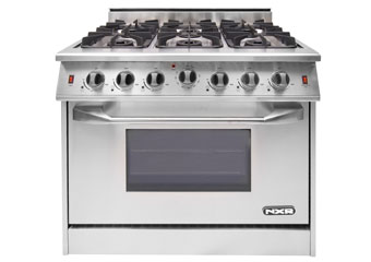 NXR 36 inch range with 6 open burners