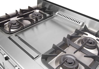 The NXR DRGB3601 with center griddle
