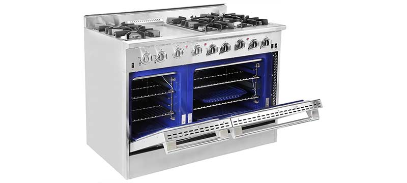 NXR model DRGB4801 with Double Ovens
