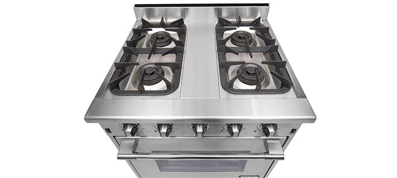NXR model DRGB3001 top burners