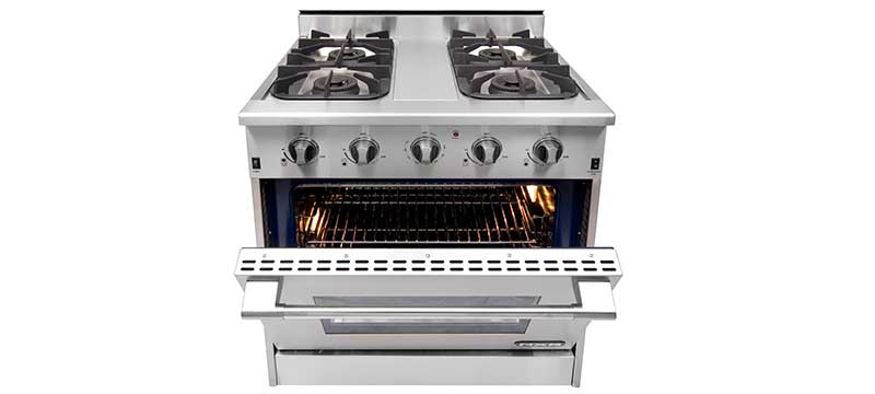 NXR Professional Ranges. Professional-Grade Stoves and Cooking ...